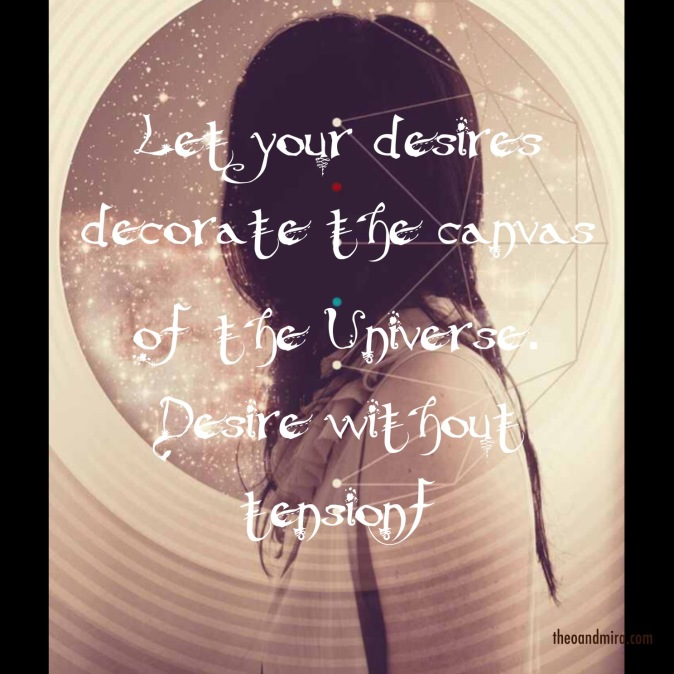 Law of attraction - decorate the canvas