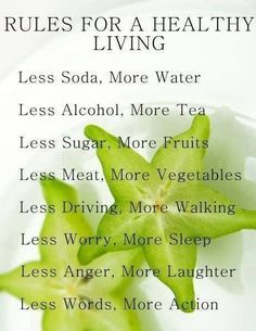 healthy living 4