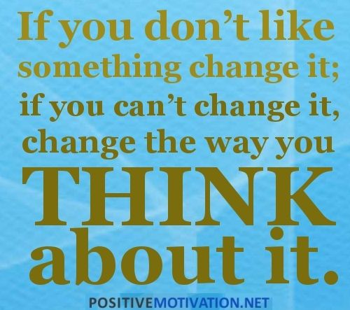 change and think