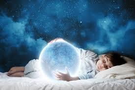 sleeping image
