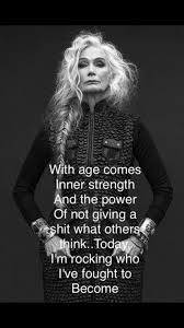 aged sassy strength