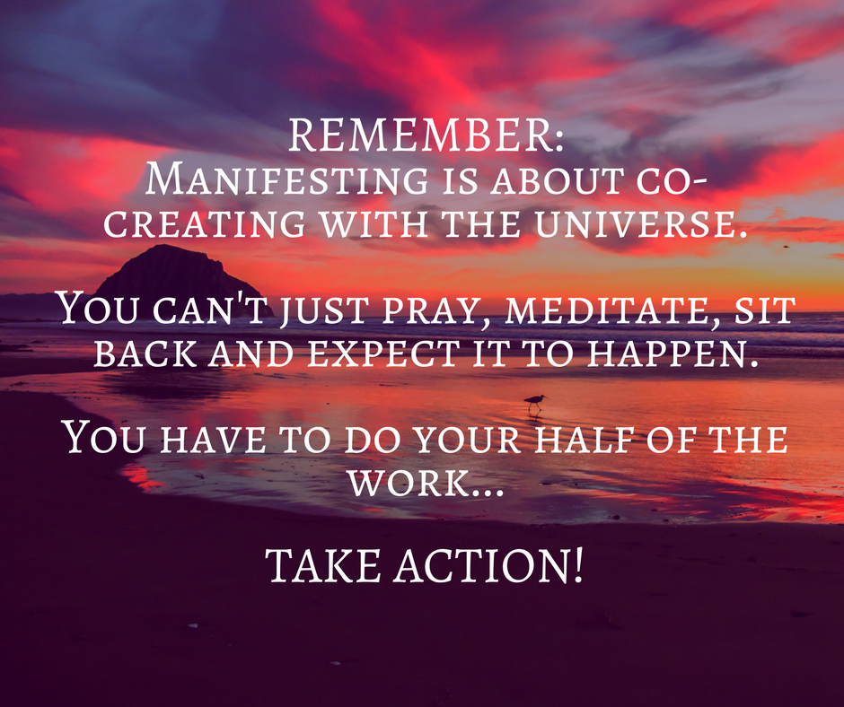 Law of attraction - take action
