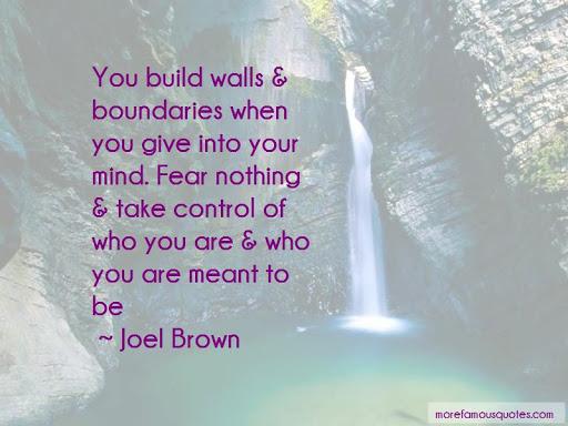 control boundaries