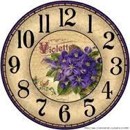 images clock violet