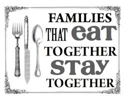 images family that eat together
