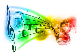 images music colourful notes 3