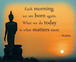 images Buddha each morning
