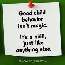 images child behaviour poster