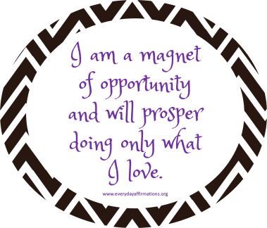 Affirmation of the week