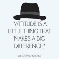Churchill atitude