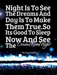 A Good Night Thought Theutopiauniverse