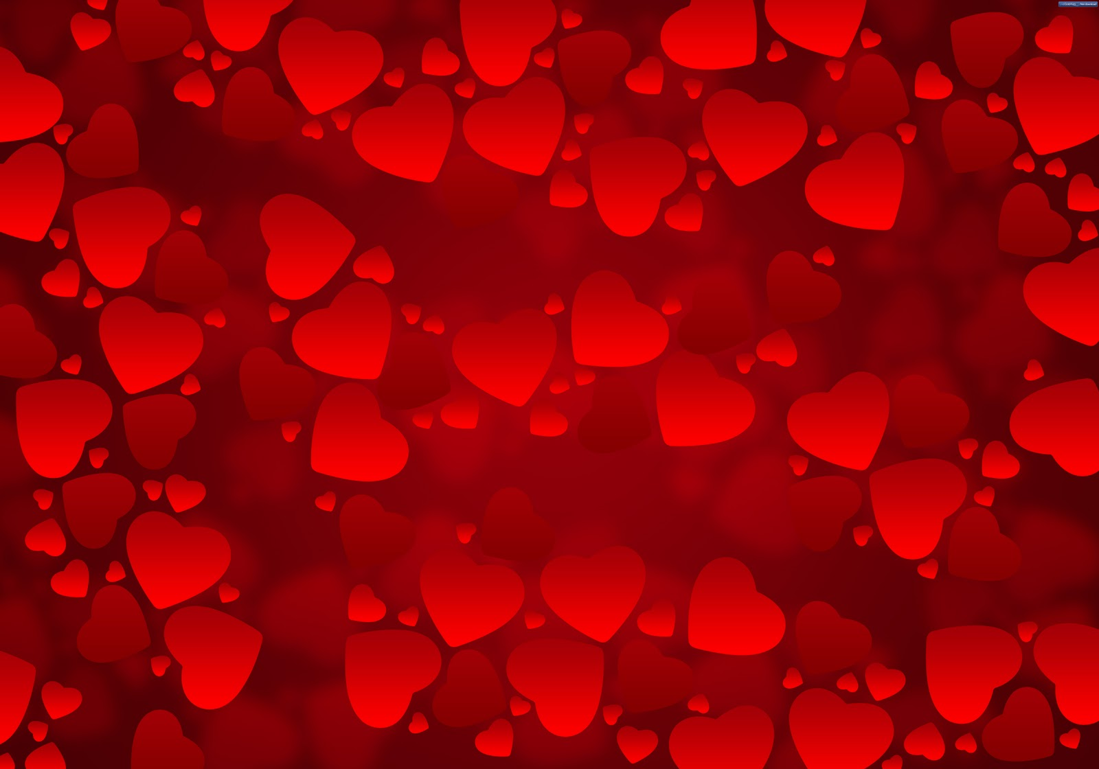hearts-background