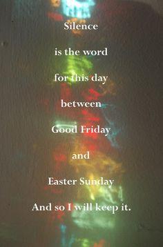 Easter saturday 2