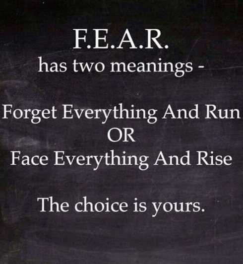 fear choice