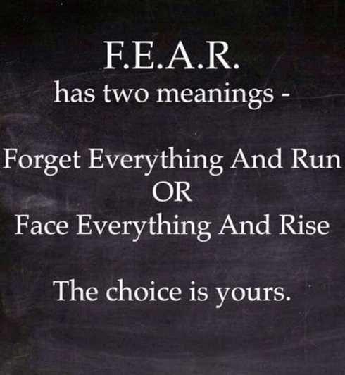 fear choice
