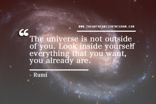 the universe is not outside