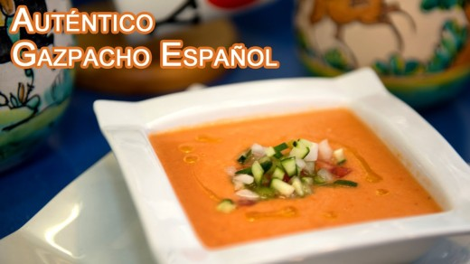 authentic gazpacho