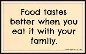 food tastes better