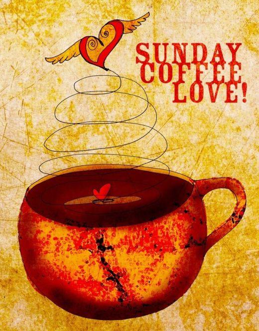 sunday coffee cup