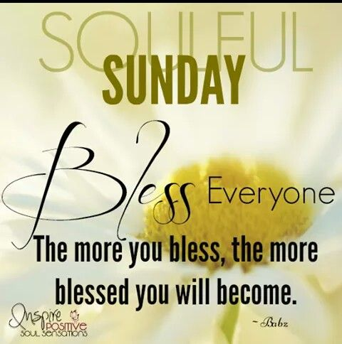 soulful sunday special