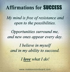 wednesday affirmation