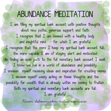 tuesday abundance 2