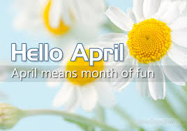 Month of April 1