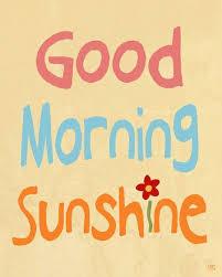 sunshine saturday 1