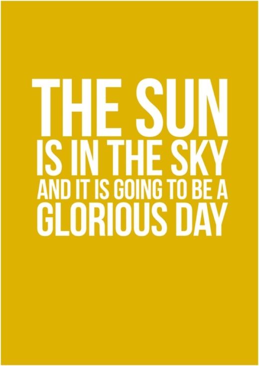 sunny sunday 101