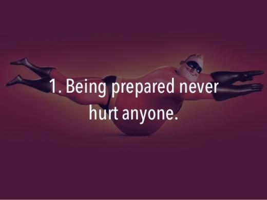being prepared 1