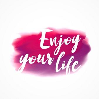enjoy yourself 1