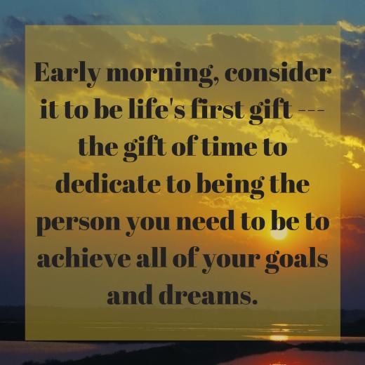 morning routine 3