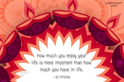 enjoy your life thursday