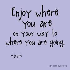 enjoy your life tuesday
