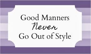 good manners 3