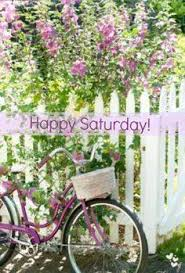 Happy Saturday bike and lavender