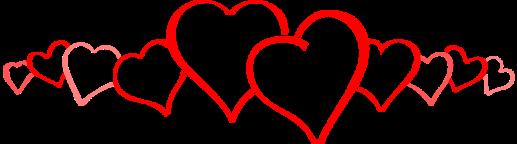 heart-tree-row